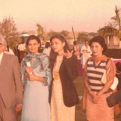 Alia with Dr. Prof. Saleem uz Zaman Siddiqui