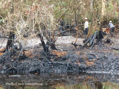 Oil spill Cuninico
