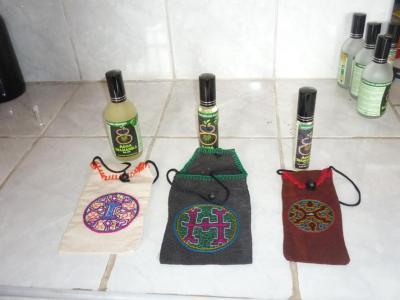 Perfume de esencias amazónicas