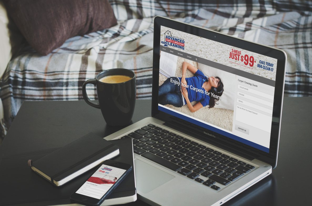 Advanced Carpet Website Design Springfield, Massachusetts
