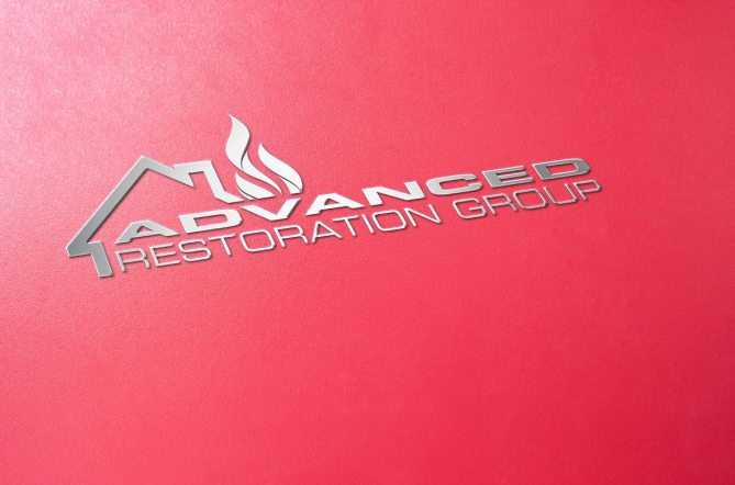 Advance Restoration Group Logo Design Western Massachusetts