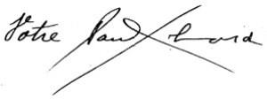 Signature Paul Eluard