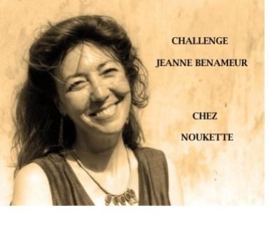 Challenge Jeanne Benameur