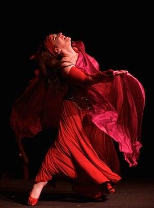 Alia dancing improvisation