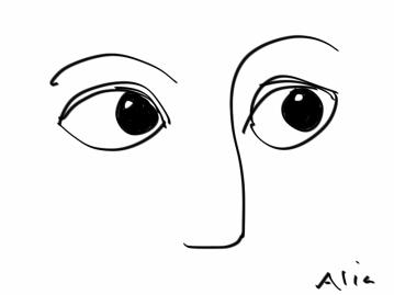 orienting eyes