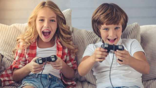 Image result for anak bermain Video Game