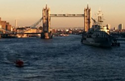 And here's Tower Bridge, as seen from London Bridge.