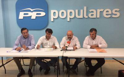 """El Partido Popular critica el """"sectarismo y la falta de gestión"""" del Consell tras dos años de gobierno"""