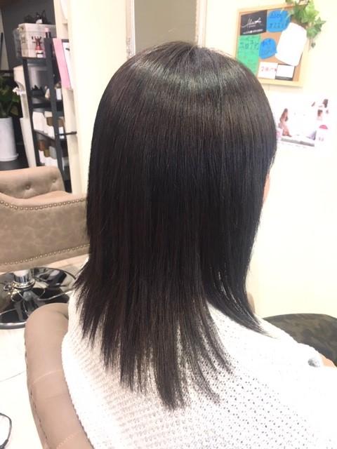 くせ毛の綺麗な収まり