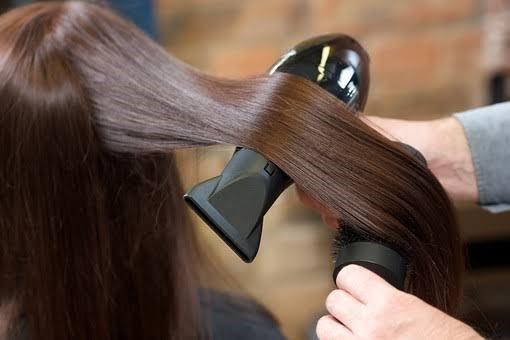 くせ毛のブロー
