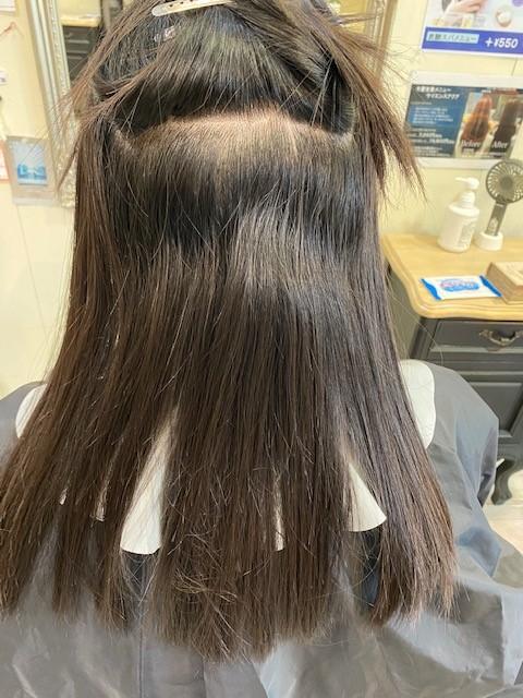 大阪吹田の髪質改善縮毛矯正