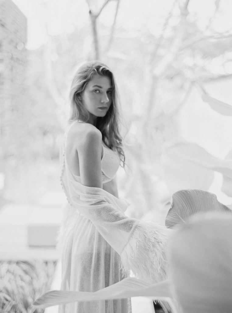 The Dreamiest Ruffled Wedding Dress That Will Leave You Blushing
