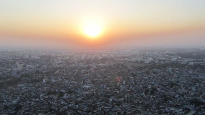 View over Jaipur