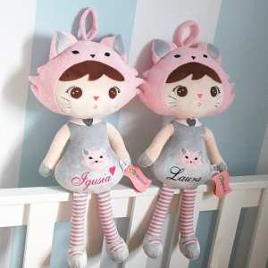personalised cat doll