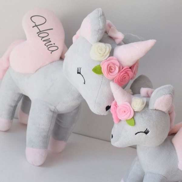 Unicorn with flower crown