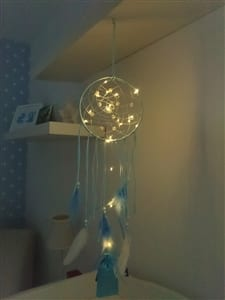 LED Blue Dreamcatcher