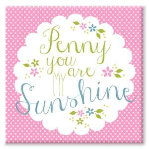 Sunshine Nursery Canvas