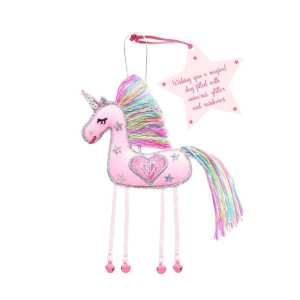 Unicorn Hanging Doll