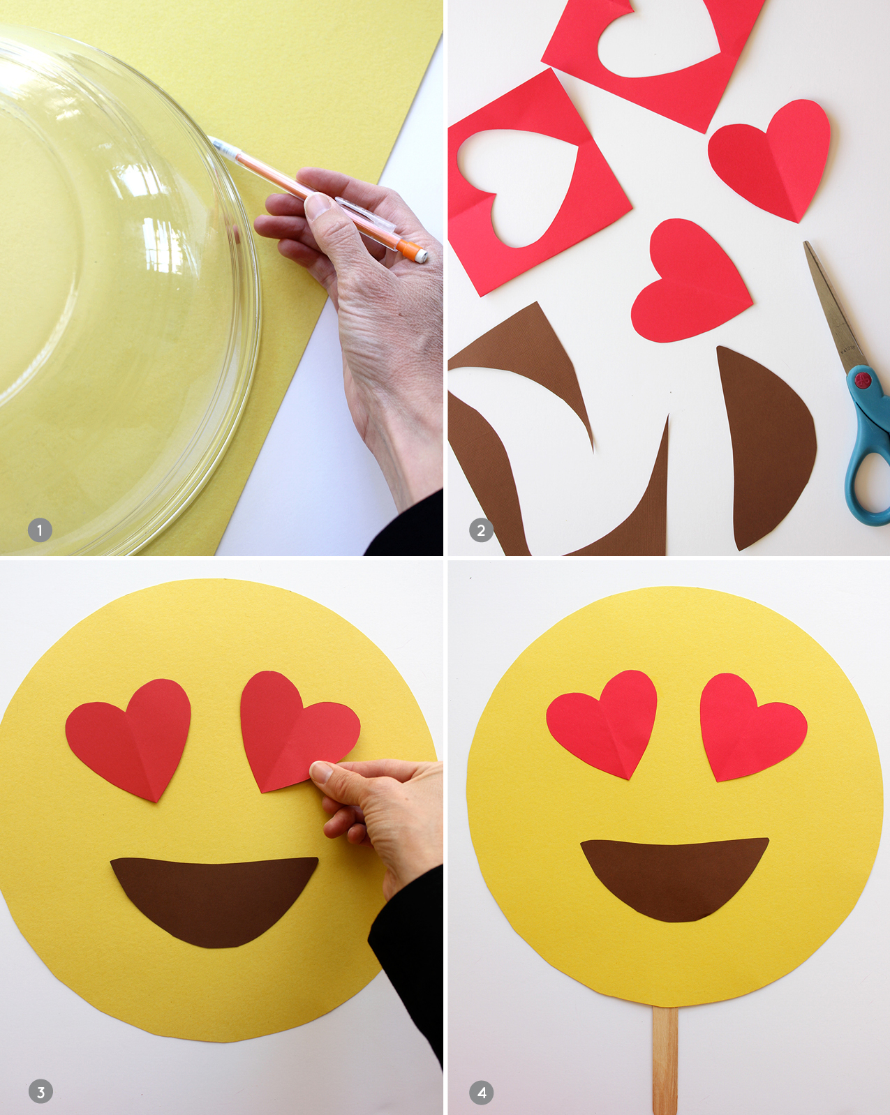 DIY-emoji-masks-steps