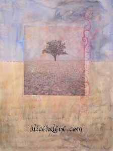 How to Paint Mixed Media with Photo and Embellishments