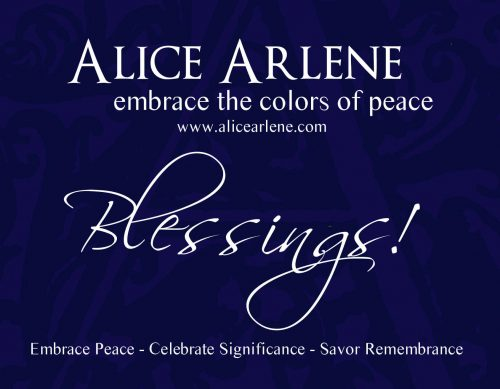 Gift Certificate Colors of Peace Artwork