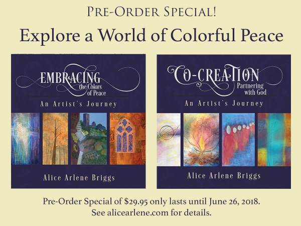 Book preorder special autographed copies new book release prophetic art artistic journey creative process partner with God