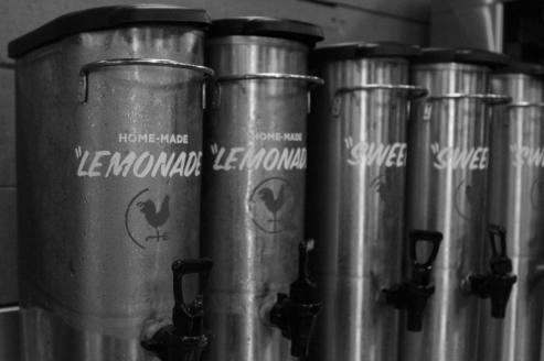 Sweet Tea and Lemonade at Hattie Bs