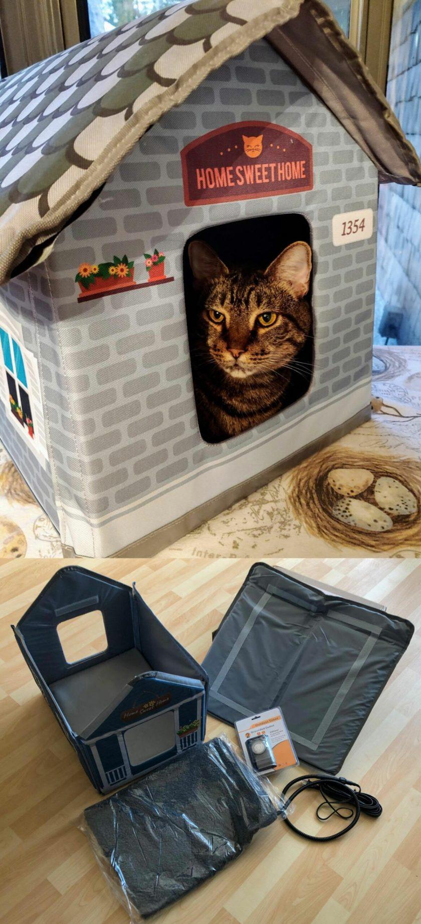 cat house outdoor