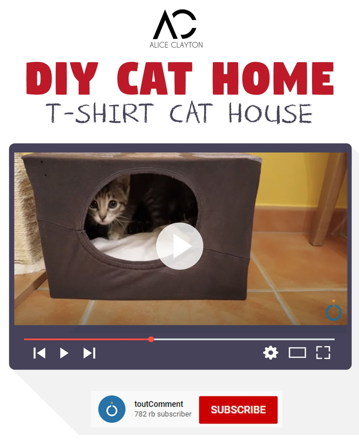 diy cat house indoor
