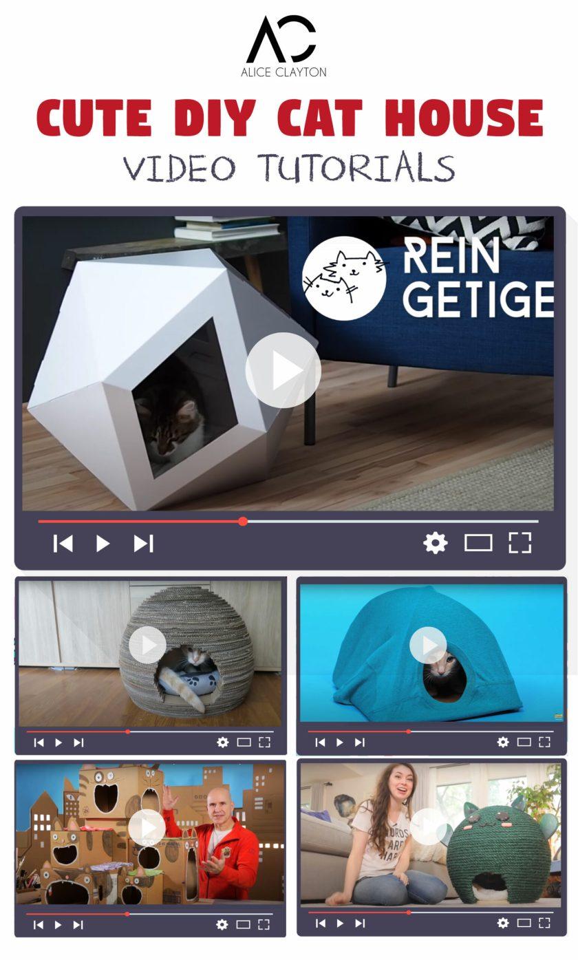 DIY CAt house ideas