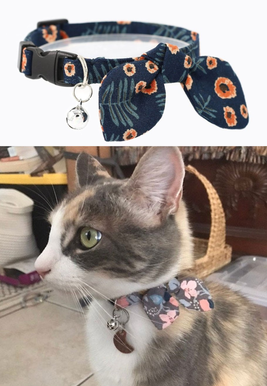 fancy cat collars