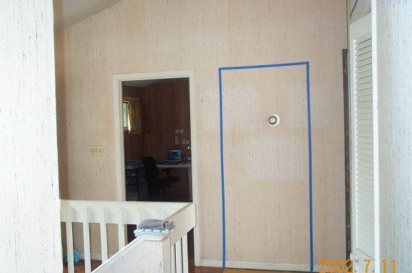Hallway Before Remodel