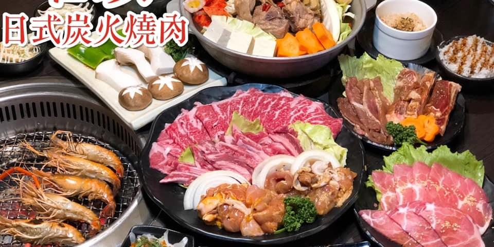 【台中美食-西屯區】加價238元泰國蝦吃到飽《石頭日式炭火燒肉》|台中宵夜| |台中吃到飽|