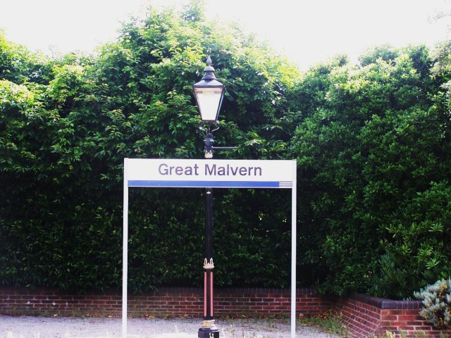 Great Malvern Station, Worcestershire England: f/3.2; Exposure 1/125sec