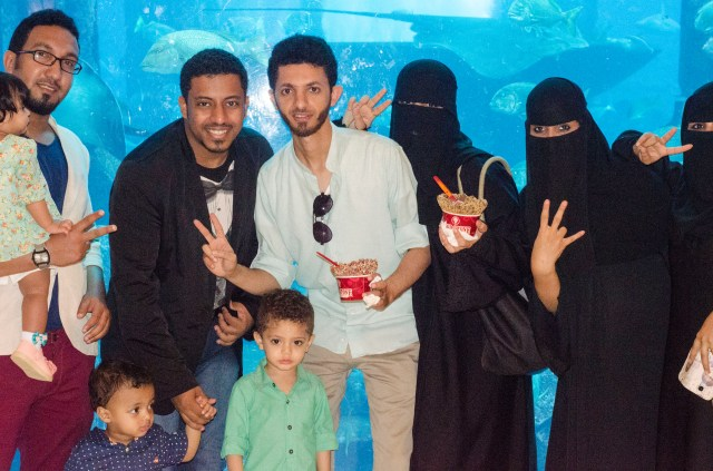 Thoroughly modern family: Saudi Arabia in Dubai