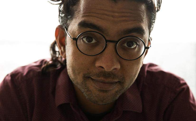 """Ask yourself what makes you unique, different and amazing"": Arji Manuelpillai talks to Alice Hiller about saying the difficult thing in his debut 'Mutton Rolls'  by ""reflecting the way the mind moves"" and embracing ""exclusion as a force of creativity."""