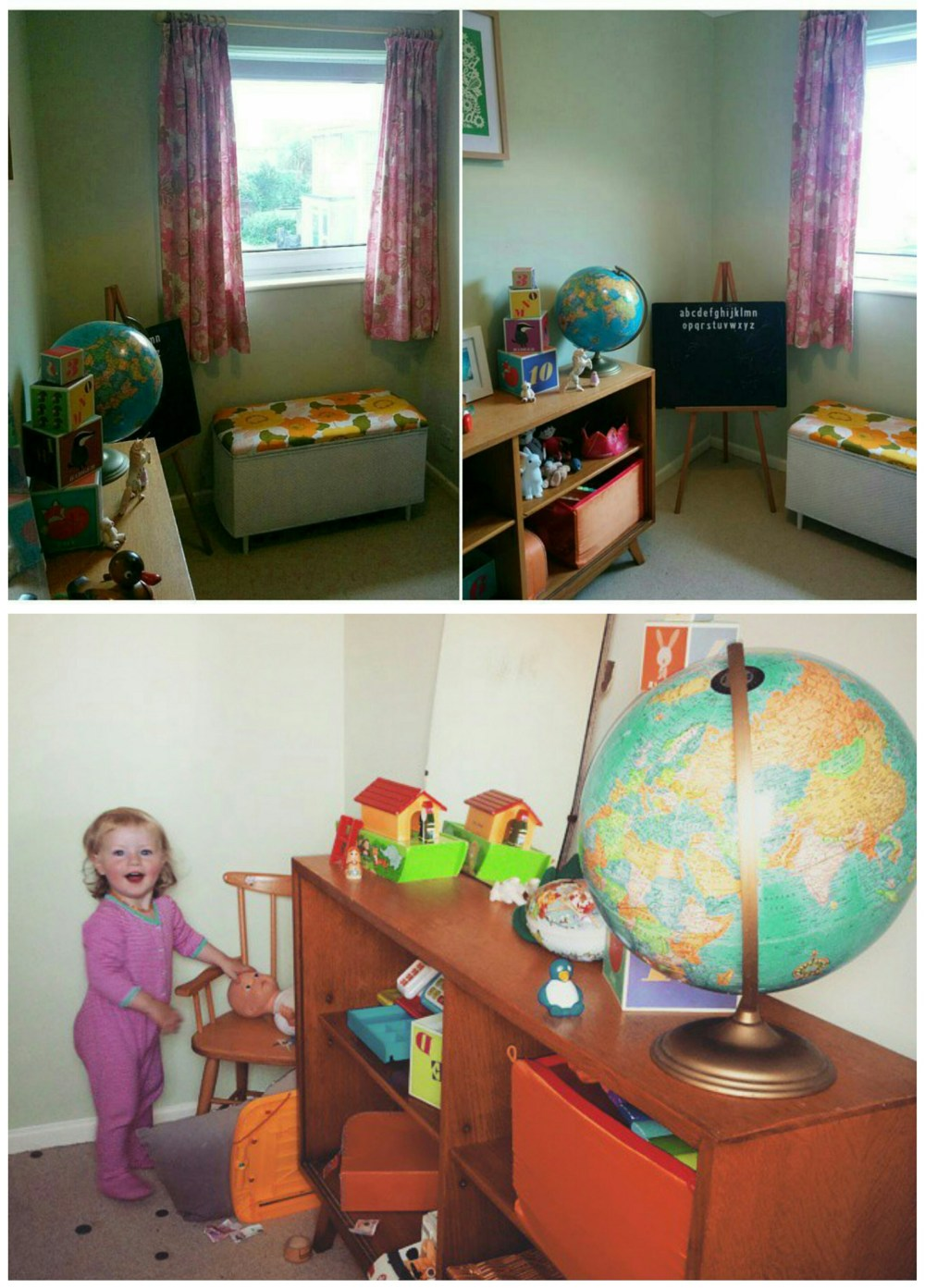 Scandi inspired kids room, Eula's small space updated.