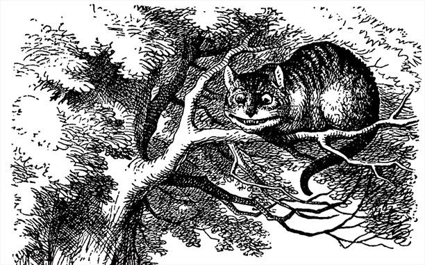 john tenniel cheshire cat