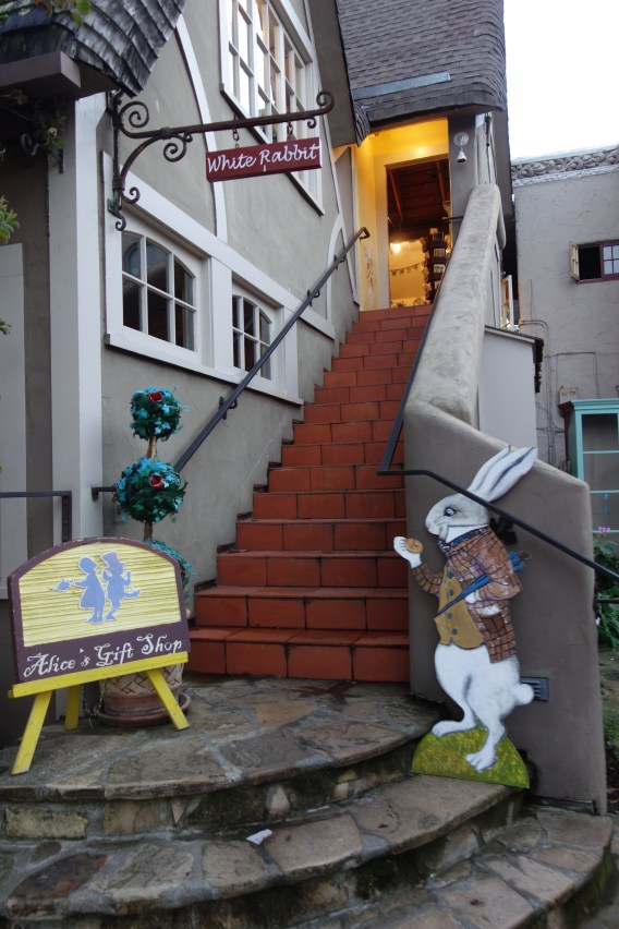 Alice in Wonderland gift shop in Carmel California