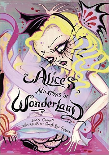 gorgeous Alice in Wonderland illustrations by Camille Rose Garcia