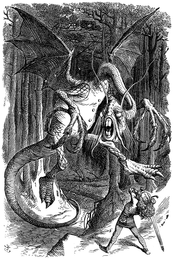 jabberwocky facts on through the looking glass podcast