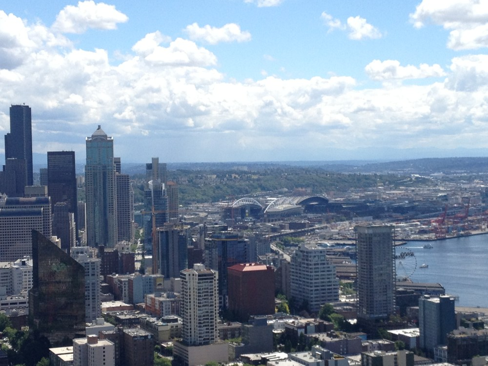 Seattle, the Emerald City (2/6)