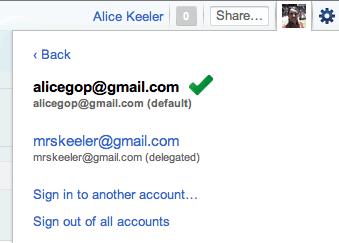 how do i switch google accounts