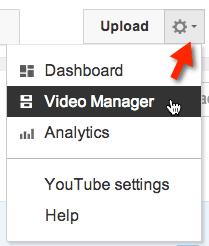 upload video manager
