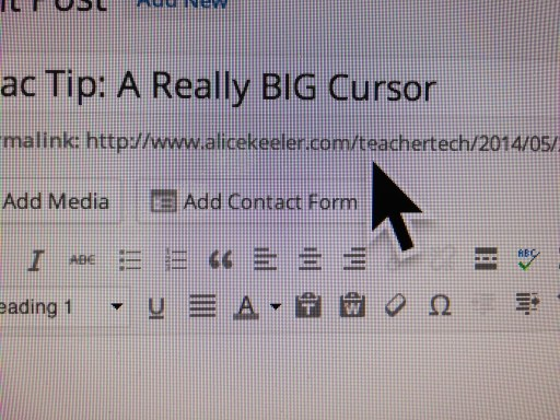 A really big cursor