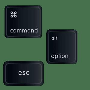 Mac command option esc