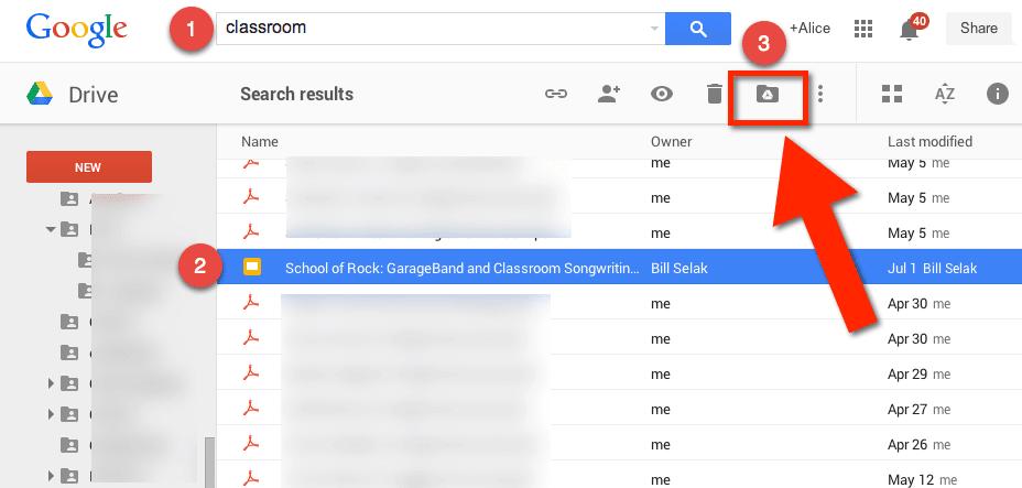 Add to New Google Drive