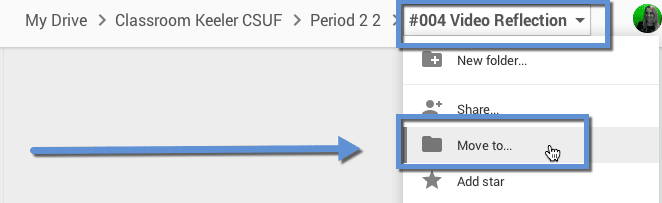 move folder google classroom