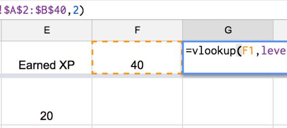 vlookup formula