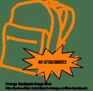 No Attachments Digital Haversack
